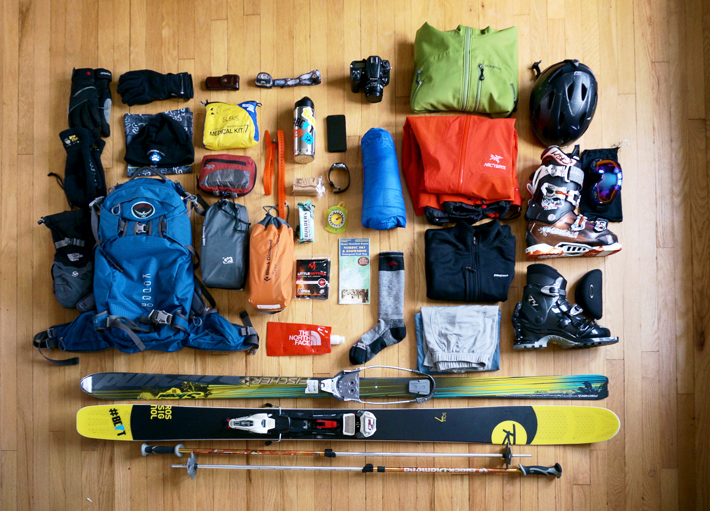 Ski Touring Gear List