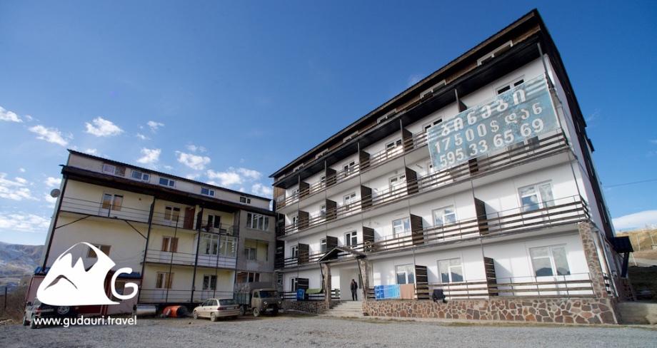 Апартаменты в Гудаури - дом Кумлистцихе