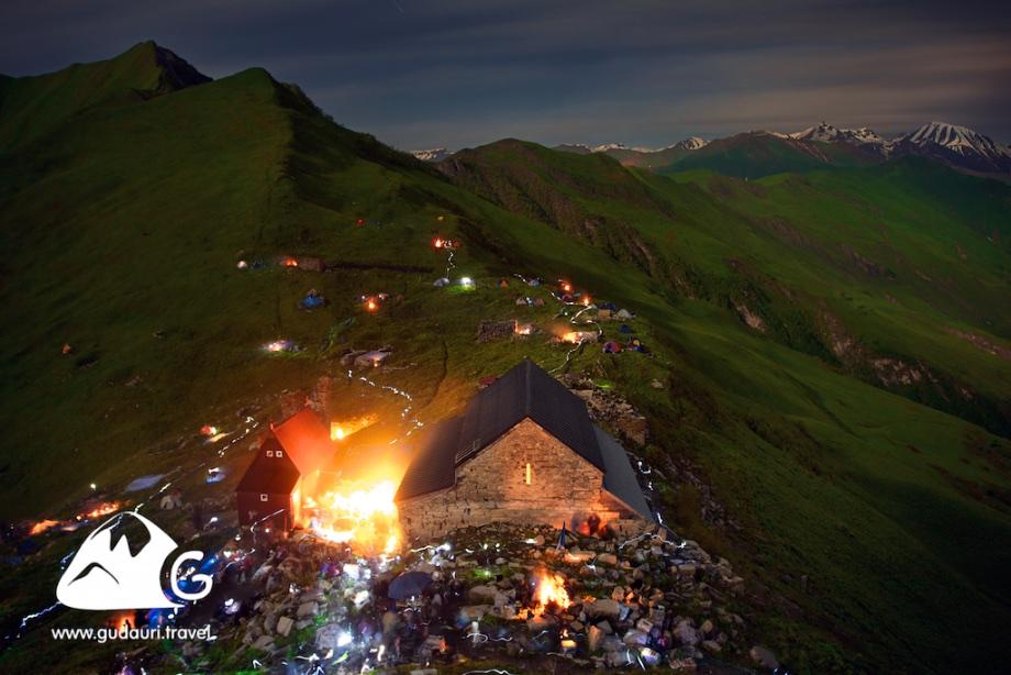 Праздник Ломисоба в монастыре Ломиси