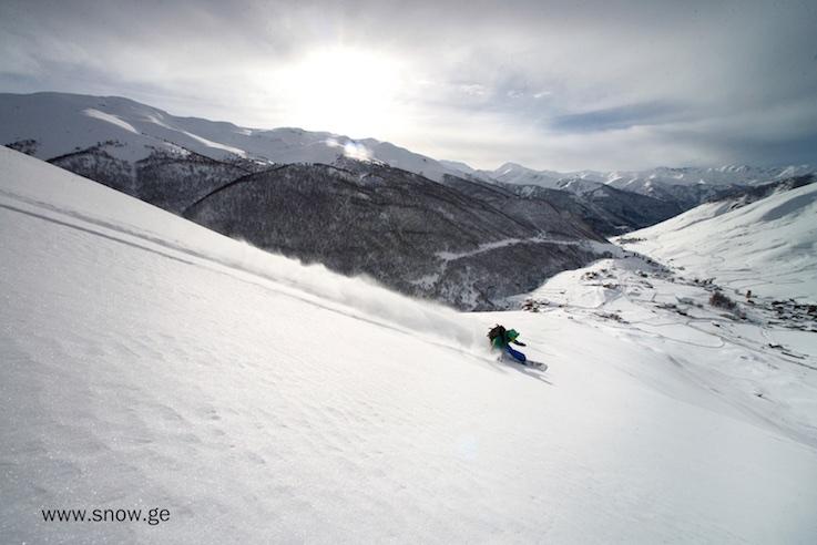 Сахарный снег абсолютно идеален. Фото - Олег Грицкевич