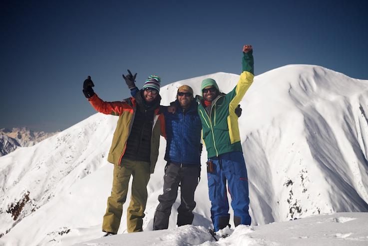 Команда: Маттео, Олег и Лука. Фото - Олег Грицкевич