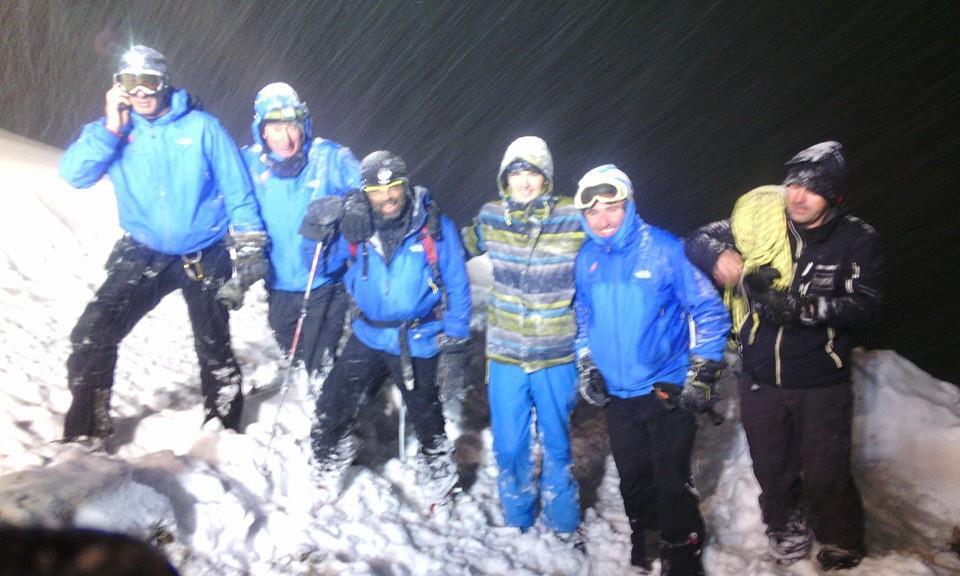 Команда спасателей в Гудаури нашли пропавшего туриста