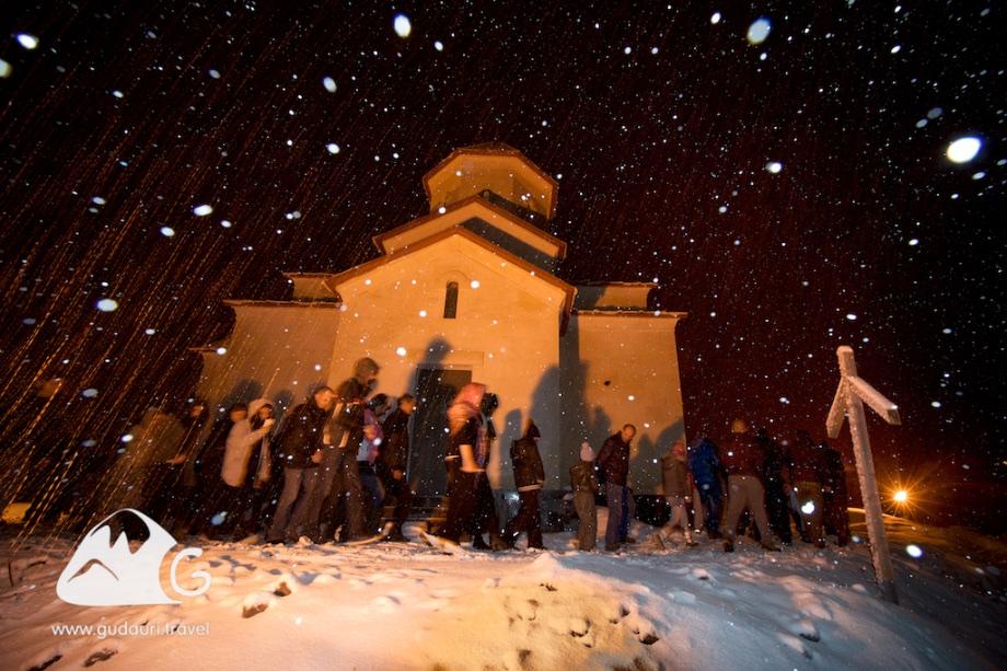 Православная Пасха в горах Грузии