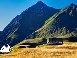 Excursion, Jeep-Tour, 1 day, Gudauri - Kazbegi - Sno Gorge