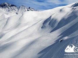 5 дней, Фрирайд в окрестностях  Гудаури ▲ 3500 м. ↓ 4000 метров